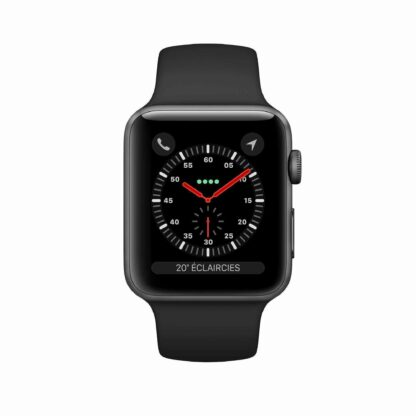 Montre Apple Watch Series 3 Aluminium Sport Noire