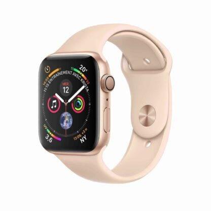 Montre Apple Watch Series 4 Aluminium Or Rose