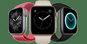 Comparatif Apple Watch