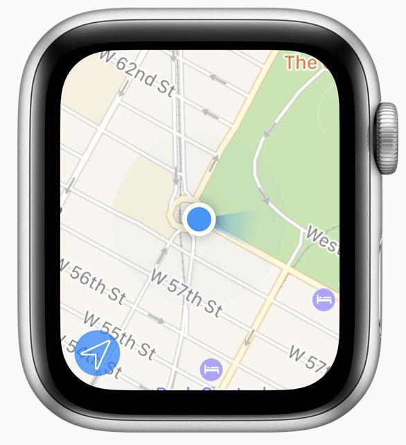 Comparatif tailles d'écrans de montres connectées