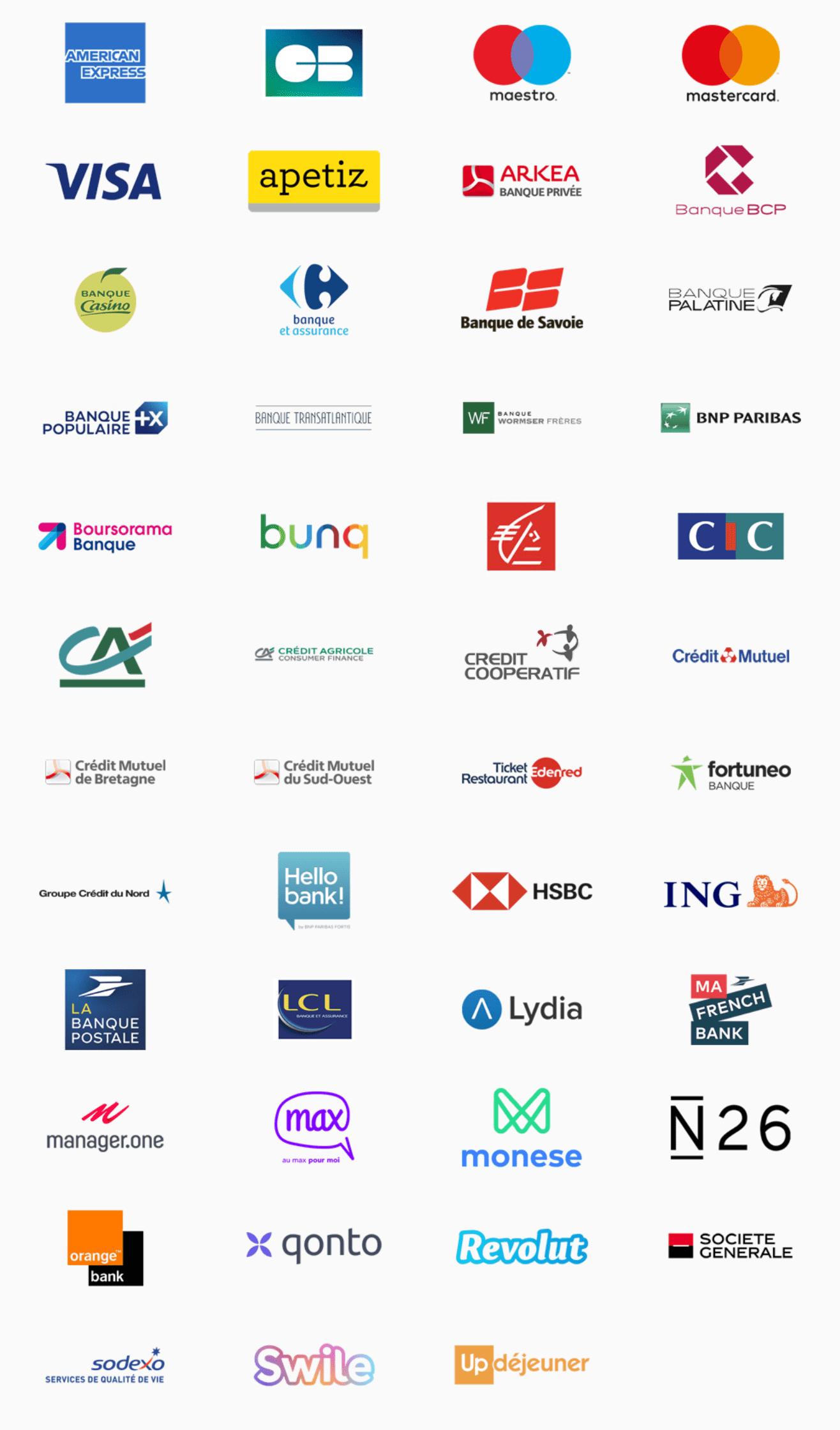 Liste banques compatibles Apple Pay