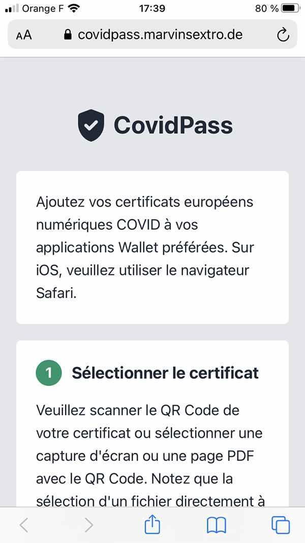 Site Covidpass