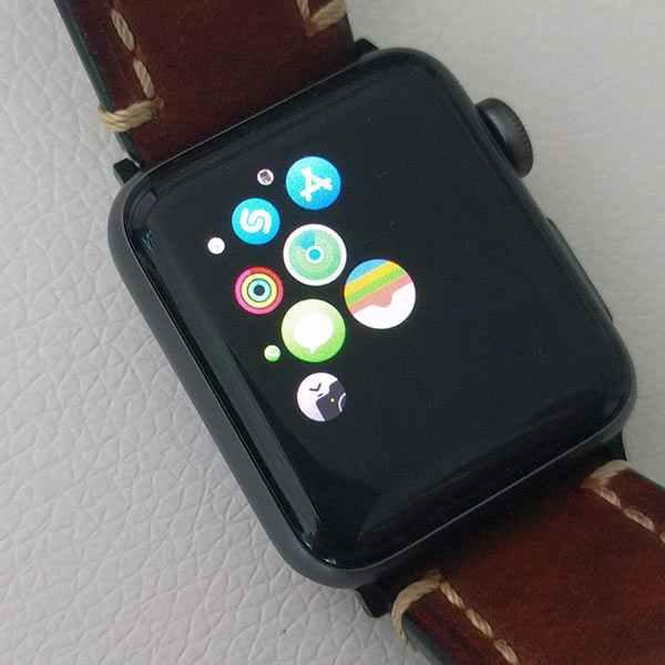 L'application Wallet sur WatchOS